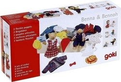 Goki Bear Dress Up: Benna & Bennoh