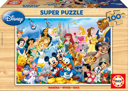 The Wonderful World of Disney 100pcs (12002) Educa