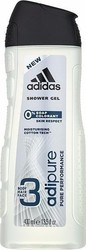 Adidas Adipure Shower Gel 0% Soap Colorant 400ml
