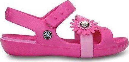ograniczona guantity buty na tanie gorące nowe produkty Crocs Keeley Petal Sandal 14852-6L4 Neon Magenta