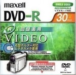 DVD-R mini MAXELL 1.4Gb 30min SINGLE SIDED PLASTIC CASE DATA-VIDEO DRH30.1P