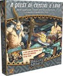Cool Mini Or Not Massive Darkness: A Quest of Crystal and Lava Expansion