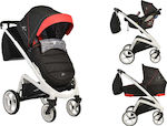 Cangaroo S-Line 3 in 1 Black & Red
