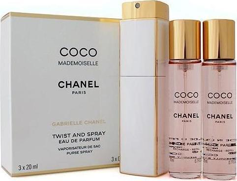 62aca059bdd Προσθήκη στα αγαπημένα menu Chanel Coco Mademoiselle Twist   Spray Eau de  Parfum 3x20ml