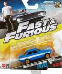 Mattel Fast & Furious Ford Escort Rs1600 Mk1 1970 Vehicle