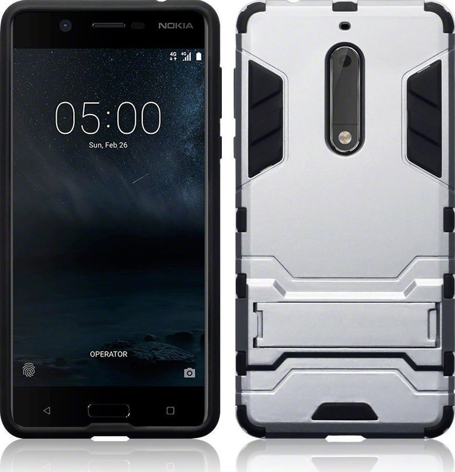 separation shoes 90814 284c2 Terrapin Body Shock Silver (Nokia 5)