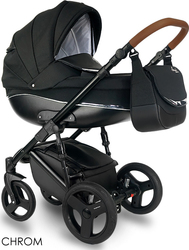 Bexa Chrom Limited 2 in 1 IN14 Black