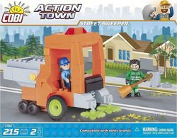 Cobi Action Town Street Sweeper 215τμχ