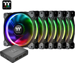 Thermaltake Riing Plus 14 RGB Radiator Fan TT Premium Edition 140mm (5 Fan Pack)