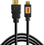Tether Tools HDMI 1.4 Cable HDMI male - mini HDMI male 1.8m (TPHDCA6)