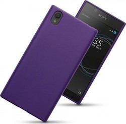 Terrapin Back Cover Σιλικόνης Purple Matte (Xperia L1)