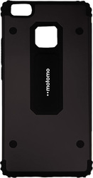 Motomo Shockproof Back Cover Μαύρο (Huawei P8 Lite)