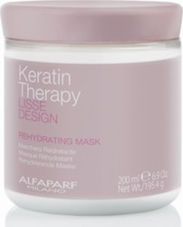 Alfaparf Milano Lisse Design Keratin Therapy Rehydratating Mask 200ml