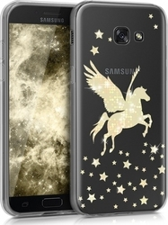 KW Back Cover Σιλικόνης Pegasus Gold (Galaxy A5 2017)