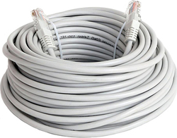 Eurolan U/UTP Cat.6 Cable 20m Γκρι (PC6E200-ELC)