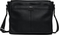 Replay Eco-Leather Briefcase Black