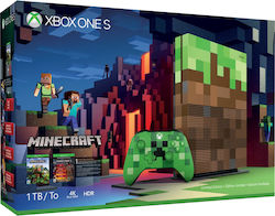 Microsoft Xbox One S 1TB & Minecraft Limited Edition