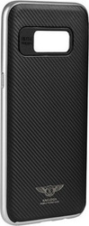 Kakusiga Silk Back Cover Silver (Galaxy S8)