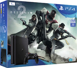 Sony PlayStation 4 Slim 1TB & Destiny 2
