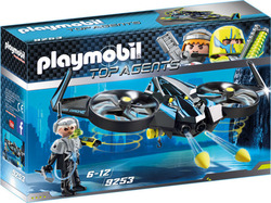 Playmobil Top Agents: Mega Drone Λοχία Κ