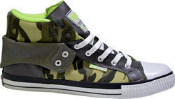 BRITISH KNIGHTS B33-3738-03 ROCO GREY/CAMO/GREEN/NEON/GREY