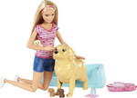 Mattel Barbie Newborn Pups Doll & Pets