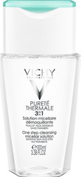 Vichy Purete Thermale 3 in 1 One Step Cleansing Micellar Solution 100ml