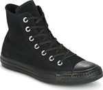 Converse All Star Chuck Taylor Plush Suede HI Black 557952C