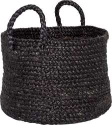 ΚΑΛΑΘΙ IB LAURSEN - 6597-24 BLACK JUTE SMALL