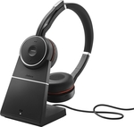 Jabra Evolve 75 UC Duo + Link 370 + Dock Charger
