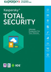 Kaspersky Total Security 2018 (5 Licences , 1 Year) Key