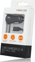 Forever M01 Car charger Type-C 2.1A