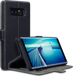 Terrapin Low Profile Wallet Μαύρο (Galaxy Note 8)