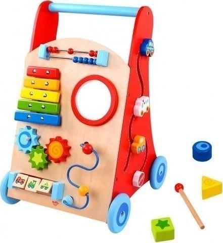 65025580fe9 Tooky Toys Ξύλινη Περπατούρα Δραστηριοτήτων