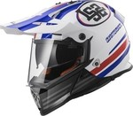 LS2 Pioneer MX436 Quarterback White/Blue/Red
