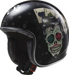 LS2 OFF583 Robber Tattoo Black