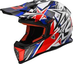 LS2 MX437J Fast Mini Strong White/Blue/Red