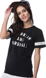 Franklin and Marshall TSHIRT JERSEY ROUND NECK SHORT (TSWF662ANS17 0021)