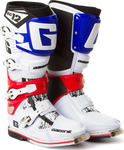 Gaerne MX SG12 White/Blue/Red