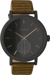 Oozoo Unisex Brown Leather Strap C9188