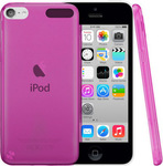 OEM Silicone Case Transparent Fuchsia (iPod Touch 5th)