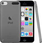 OEM Silicone Case Transparent Black (iPod Touch 5th)