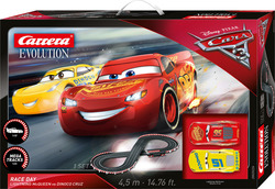 Carrera Disney · Pixar Cars 3 - Race Day