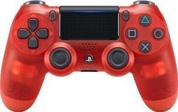 Sony Dualshock 4 Controller Crystal Red (New)