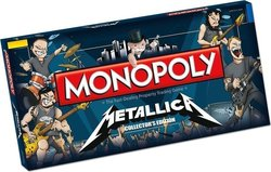 USAopoly Monopoly: Metalica Collector's Edition