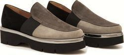 Δερμάτινα Flatforms Art 46 Grey w18-46-01