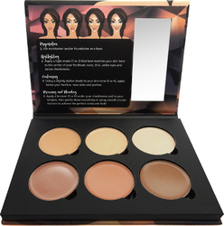 W7 Cosmetics Lift & Sculpt Face Shaping Contour Palette 21gr