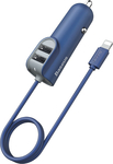 Baseus Energy Station with Line Multi Car Charger CCNL-03 Navy Blue