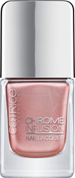 Catrice Cosmetics Chrome Infusion Nail Lacquer 03 Stunning Rose Gold