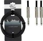 Alpha Audio Cable 6.3mm male - 6.3mm male 1.5m (190.720)